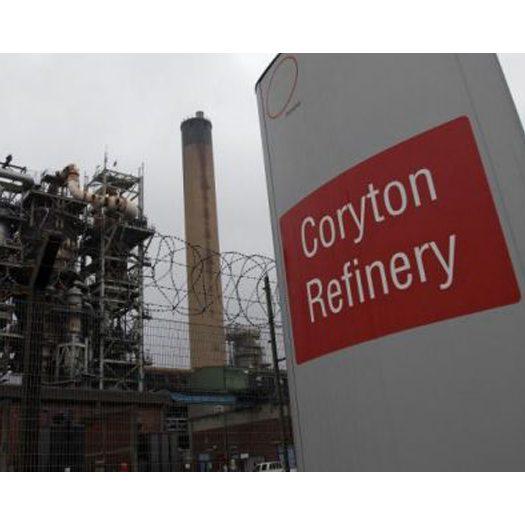 Coryton Oil Refinery in Essex