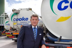 Samuel Cooke & Co chairman and owner, Frank Carroll