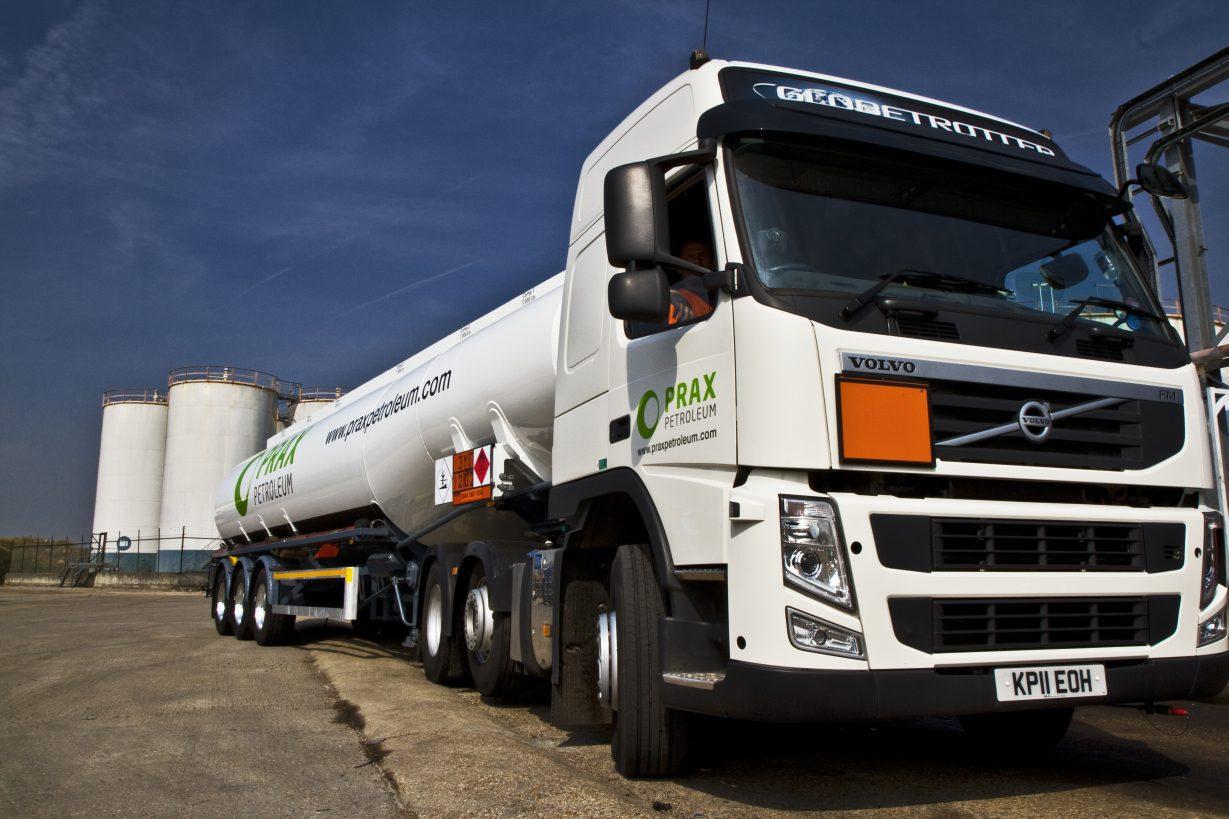 Prax Petroleum tanker