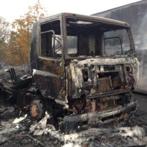Fire at Ukay Fuels depot