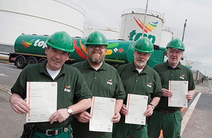With other strings to its bow, Top Oil has invested in its Dublin terminal