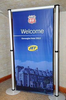 There was a warm welcome for Jet authorised distributors at Phillips 66's 2013 conference