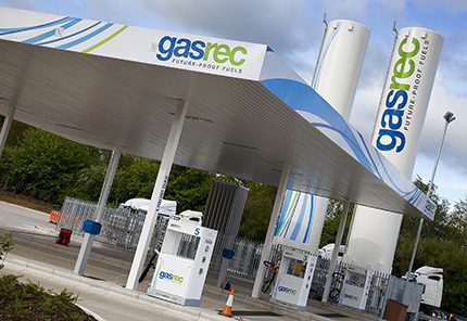 The UK's first bio-LNG refuelling station