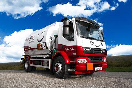 Ingoe's brand new Tasca tanker