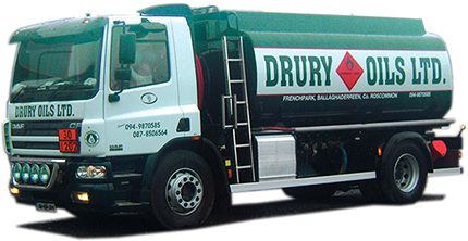 County Roscommon distributor Drury Oils is calling for distributors to have a minimum delivery – one that actually makes money!