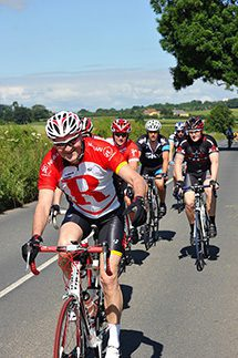 On their bikes – Mechtronic employees - Philip, Ben, Ryan, Chris and Brad