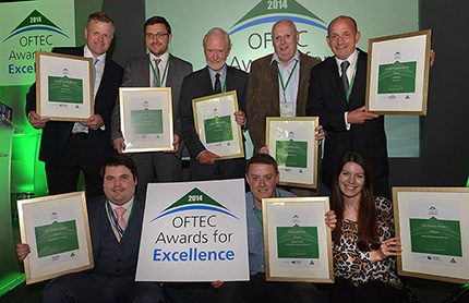 The 2014 OFTEC Awards for Excellence winners