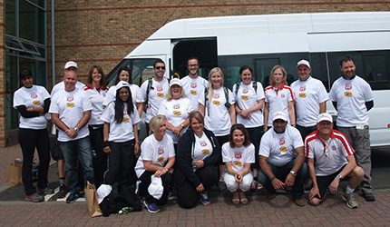 Phillips 66 staff prepare for the Grand Union Canal Challenge