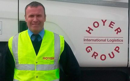 Hoyer Petrolog driver trainer Chris Hill spent two weeks in Tanzania delivering a variety of training
