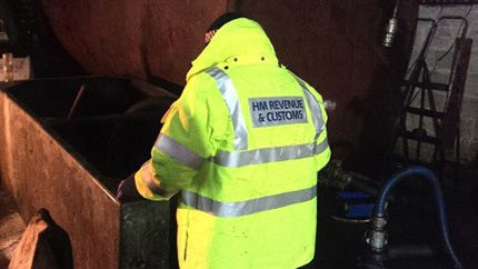 HMRC officers uncovered a diesel laundering plant the shores of Lough Ross in Co. Armagh
