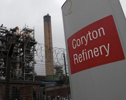 The remaining refinery demolition on the former Coryton site is due to be completed in 2016.  A 403-acre plot on this regionally important industrial development site is now up for sale