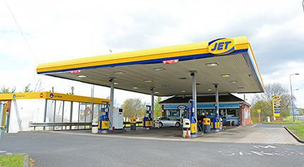 The KSC JET-branded Bells Hill service station at West Rainton in Durham