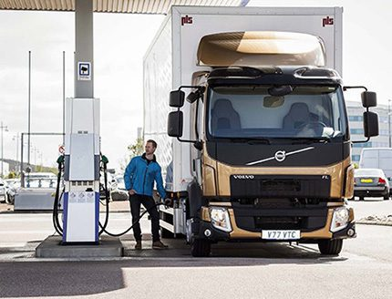 Volvo Trucks has now approved the use of hydrotreated vegetable oils (HVO) in all its Euro-5 engines with unchanged service intervals.  In September 2015, there will be a global type-approval for HVO in FL and FE Euro-6 engines with other engine variants to follow