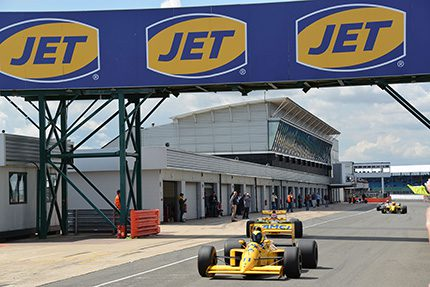 Following a second year as official fuel partner to the Silverstone Classic, JET is looking forward to partnering the event again in 2016