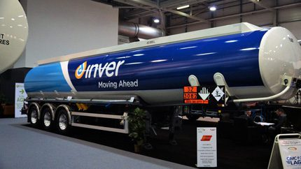 "The tanker's bespoke modifications have made our transport capabilities more efficient, we can make a more competitive offering to customers and it helps reduce our daily carbon footprint,"" said Inver's commercial director, Tony Wilson"