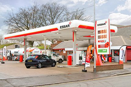 With 'a strong vision and the required resources to deliver a well-planned entry into the market,'  Essar's first branded site at Coalville in Leicestershire will be quickly followed by more sites