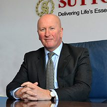 Graeme McFaull – 'delighted and privileged' to become chairman of the Suttons Group