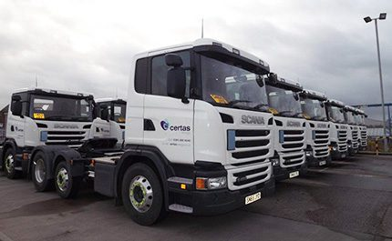 New vehicles for Certas Energy which is 'taking the opportunity to introduce the best models available for our business needs'