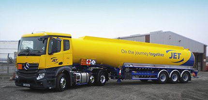"""""""Our new upgraded tanker fleet reflects our continued commitment to driver safety and operational efficiency, """" said Mary Wolf, managing director of Phillips 66 UK & Ireland Marketing"""
