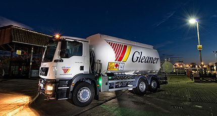 New tankers for Gleaner Oils which has around 16,000 regular business customers