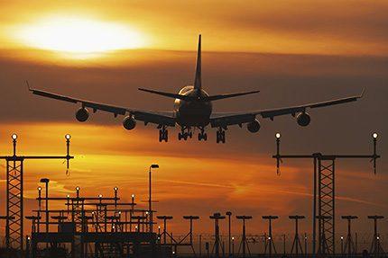 Sun rise at Heathrow