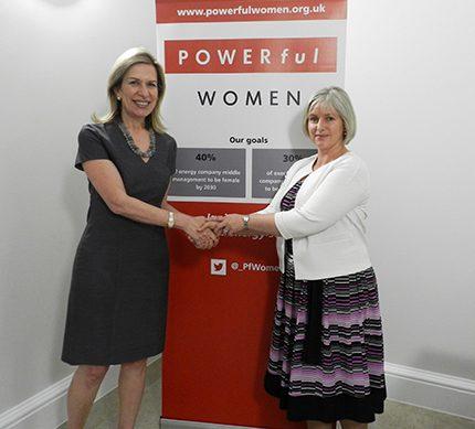 The importance of women in energy event was co-chaired by US deputy secretary of energy, Dr Elizabeth Sherwood-Randall (l) and Louise Kingham OBE FEI, Energy Institute chief executive