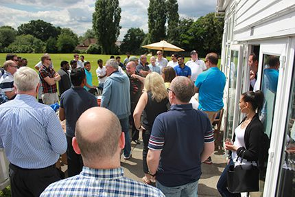 Over 100 guests enjoyed Park Garage Group's annual cricket day at Addiscombe Cricket Club in East Croydon