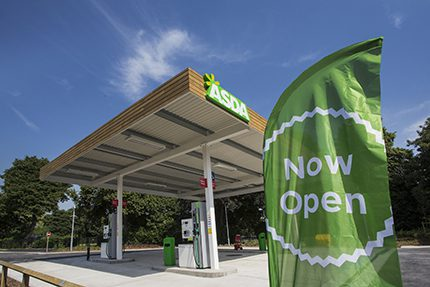 The Asda project at East Retford was completed in a 10 week time frame with the site handed over at end of last month