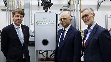 Hydrogen-ready boiler
