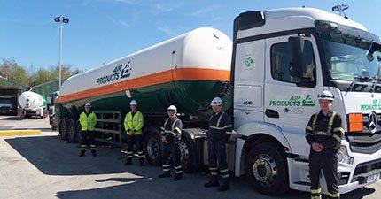 Hoyer UK drivers train