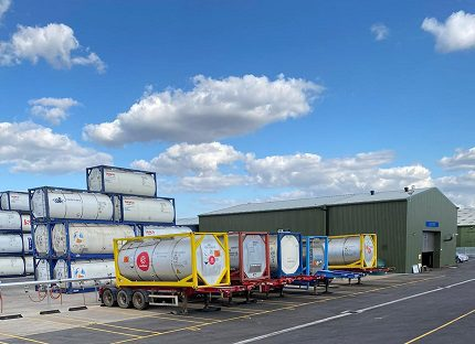 Stolt Tank Containers open depot in Scotland