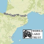 World Land Trust fundraising charity ride route across the Pyrenees